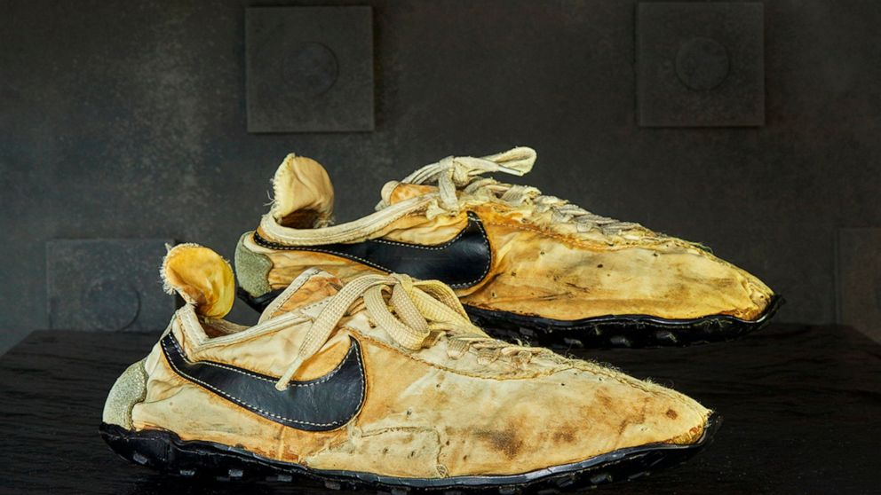Nike track shoes used in 1972 Olympic