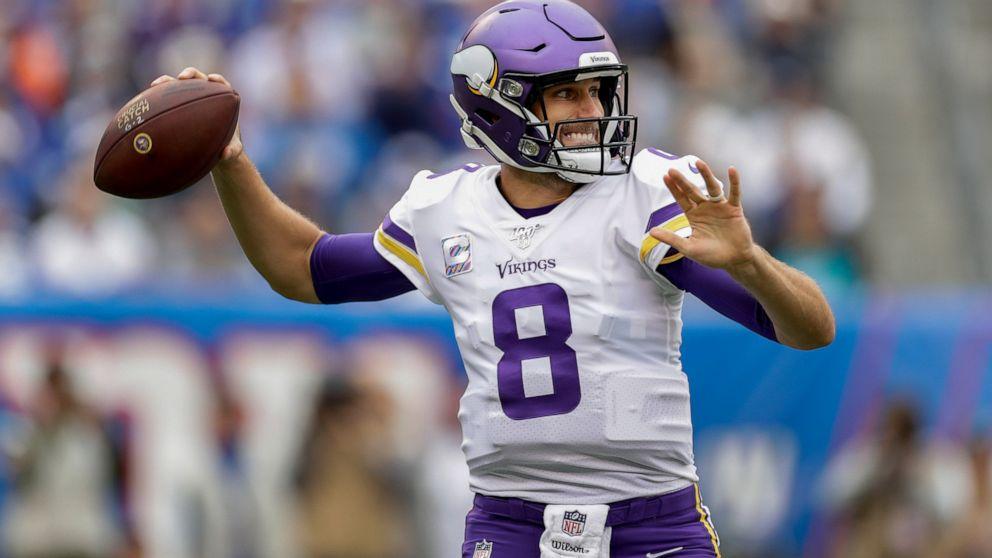 Cousins Thielen Lead Vikings In Dominant Win Over Giants