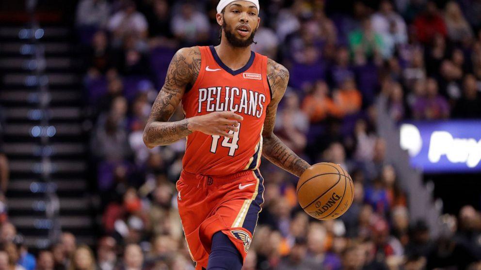 Ingram Leads Pelicans Past Suns 124 121 Abc News
