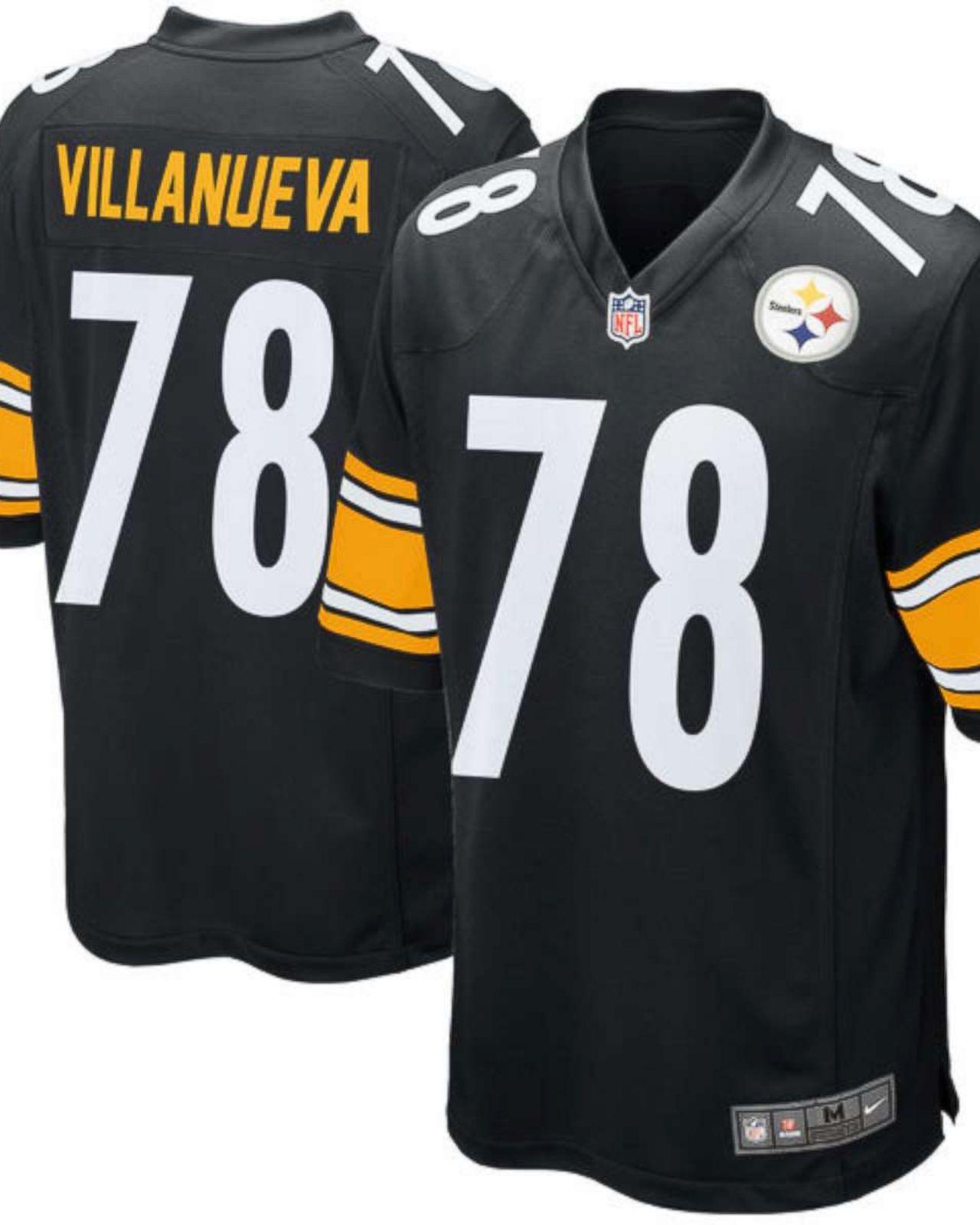 online store 25c72 86260 Steelers' Alejandro Villanueva donating proceeds from jersey ...