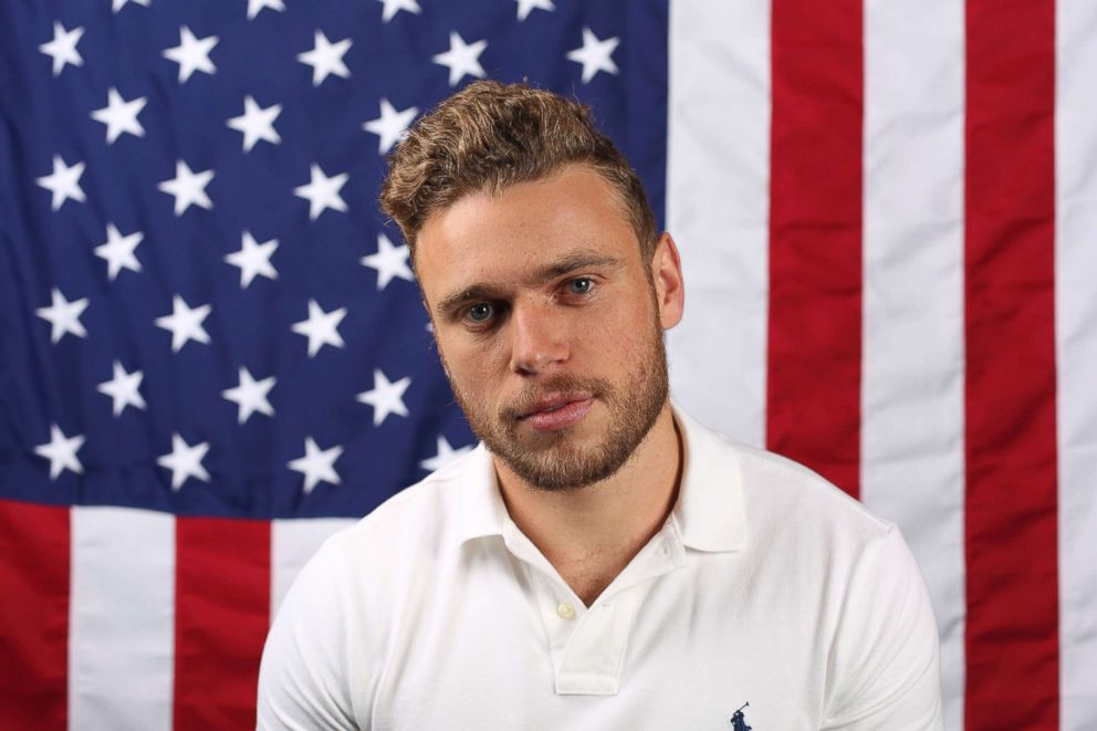 PHOTO: U.S. freestyle skier Gus Kenworthy poses for a portrait at the Team USA Winter Olympics media summit Monday, Sept. 25, 2017, in Park City, Utah.