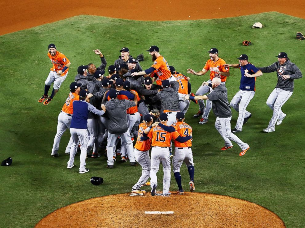 Houston Astros claim first World Series title in Game 7 ...