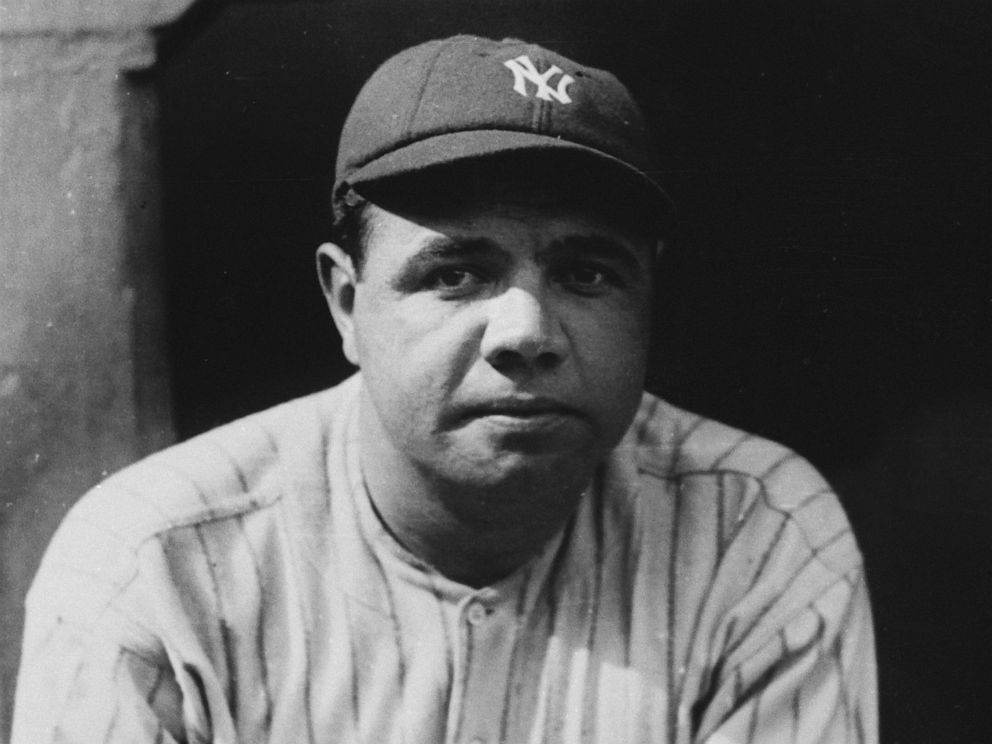 cheap for discount b72ec 73354 Rare Babe Ruth jersey sells for record $5.64 million – most ...