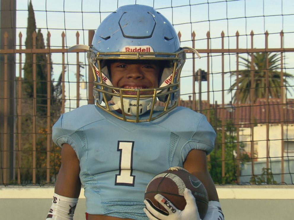 PHOTO: Bunchie Young, 11, is already a youth football standout and was named Sports Illustrated Kids Sportskid of the Year late last year.