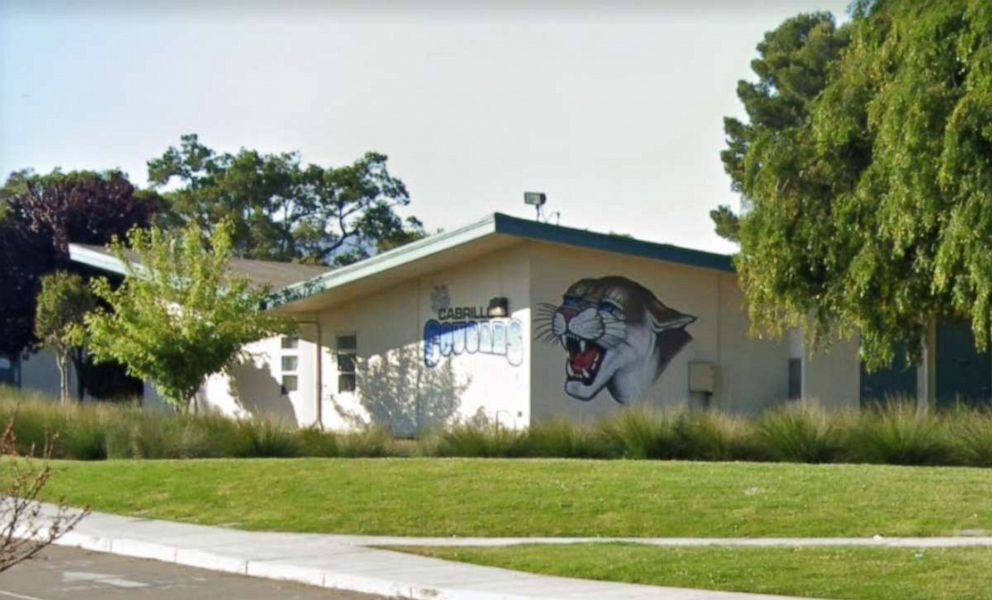 PHOTO: Cabrillo Middle School in Santa Clara, California.