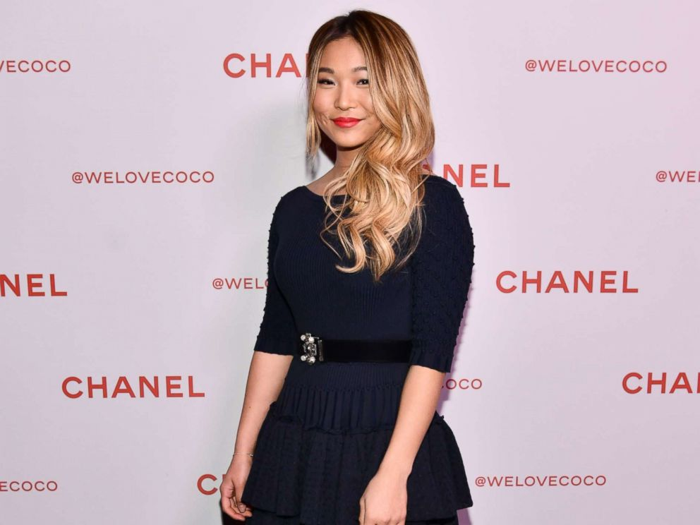 PHOTO: Chloe Kim attends a Chanel Party on Feb. 28, 2018 in Los Angeles.