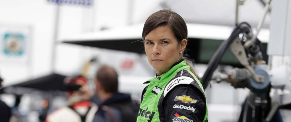 PHOTO: Danica Patrick watches during a practice session for the IndyCar Indianapolis 500 auto race at Indianapolis Motor Speedway in Indianapolis, May 18, 2018.