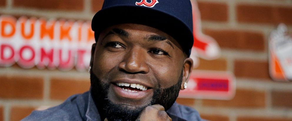 PHOTO: In this Sept. 30, 2016, file photo, Boston Red Soxs David Ortiz speaks during a news conference before a baseball game against the Toronto Blue Jays at Fenway Park, in Boston.