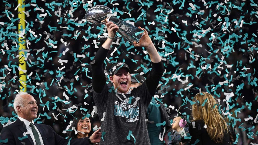 Philadelphia Eagles top New England Patriots to win first Super Bowl ...