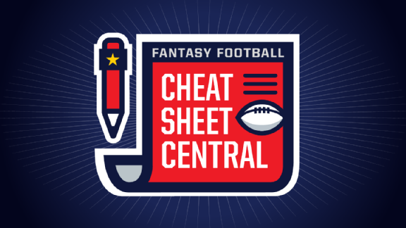 photograph regarding Espn Printable Fantasy Football Rankings identify 2016 myth soccer cheat sheets - ABC Information