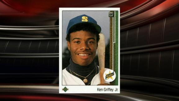 How Ken Griffey Jrs Rookie Card Became No 1 For Upper