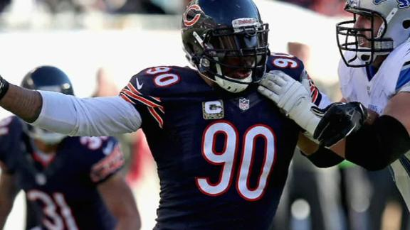 Bears release Julius Peppers - ABC News