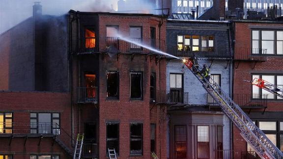 Tom Brady Witnesses Deadly Fire