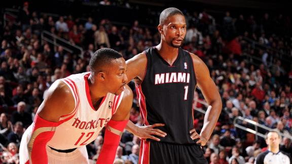 dc9435e6e1aa Rockets expect to sign Chris Bosh - ABC News