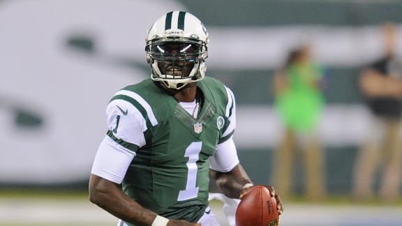 56ab9b5ce Geno Smith beats out Michael Vick - ABC News