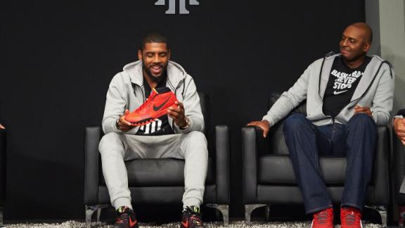 58a5b5aba071 Nike unveils Kyrie Irving shoe - ABC News