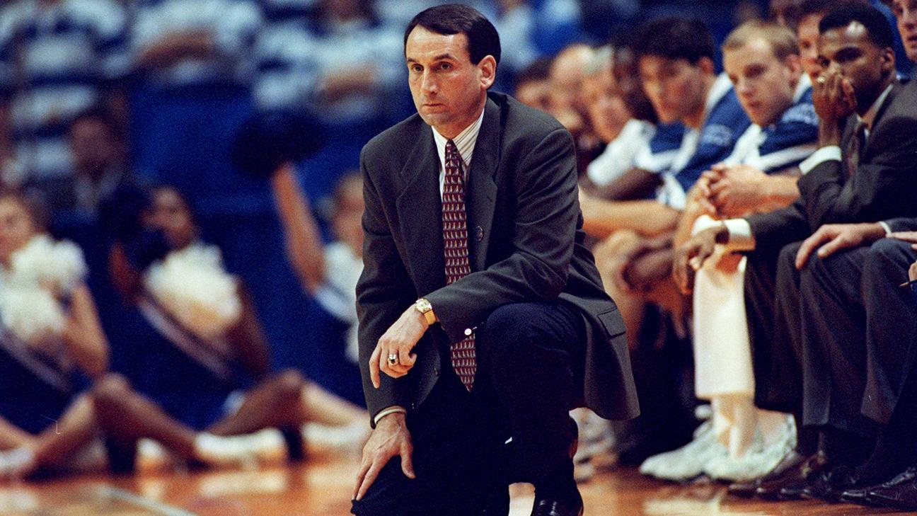 Resultado de imagen de coach k first year duke