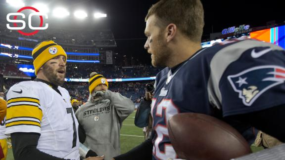 f19221bde Ben Roethlisberger   Not the same  playing Patriots without Tom Brady