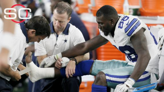 Dez Bryant Out 4 6 Weeks Broken Foot Abc News