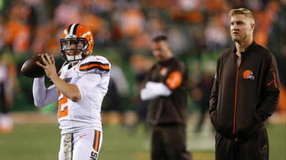 bd6eaf353 Browns expected to start Johnny Manziel against Steelers - ABC News