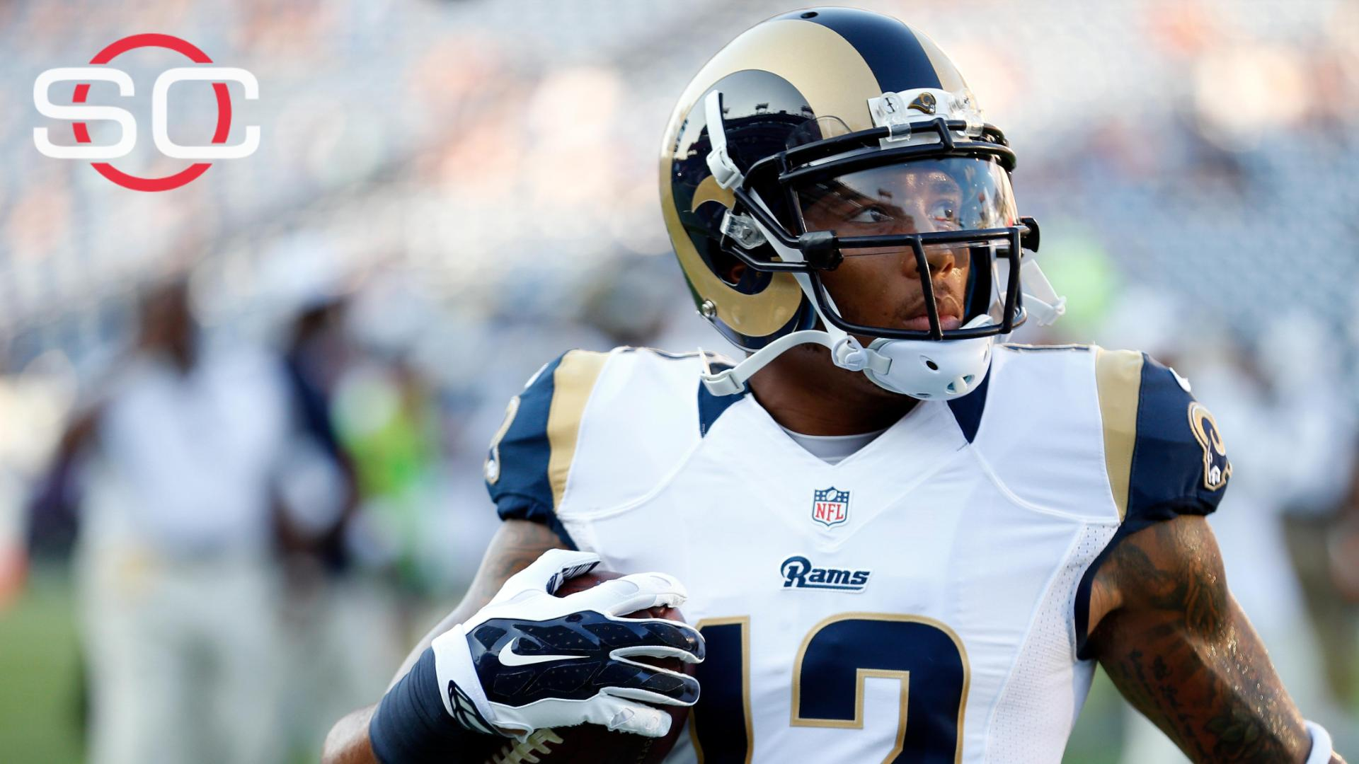 ee80be3a8 Rams WR Stedman Bailey out of surgery after being shot in head - ABC ...