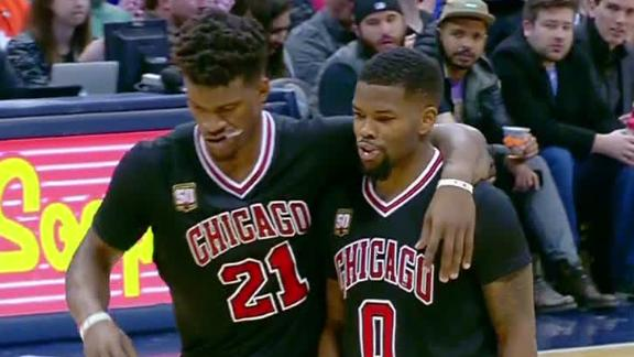 Bulls calling Jimmy Butler injury a sprained left knee ...
