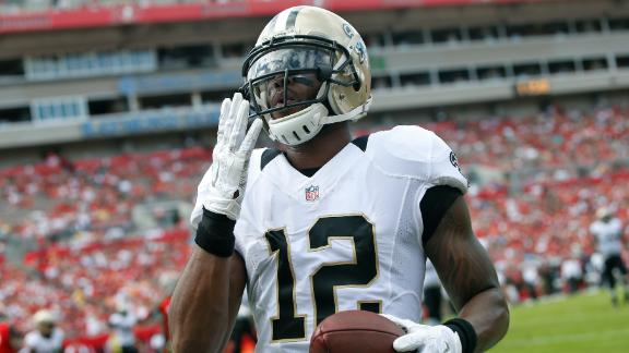check out 2b0a6 e4b5b Marques Colston likely to be released by Saints - ABC News