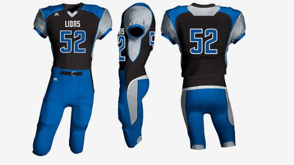 best sneakers df46c 301d1 Uni Watch contest results: How you would redesign the Lions ...