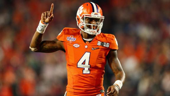 best authentic f1600 0183d Even with NFL looming, Clemson QB Deshaun Watson will ...