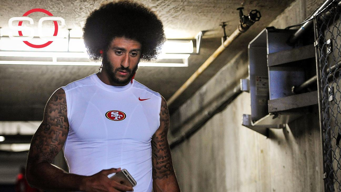 sale retailer 9dfa5 dd3f1 Kaepernick's jersey sales on rise since protest - ABC News