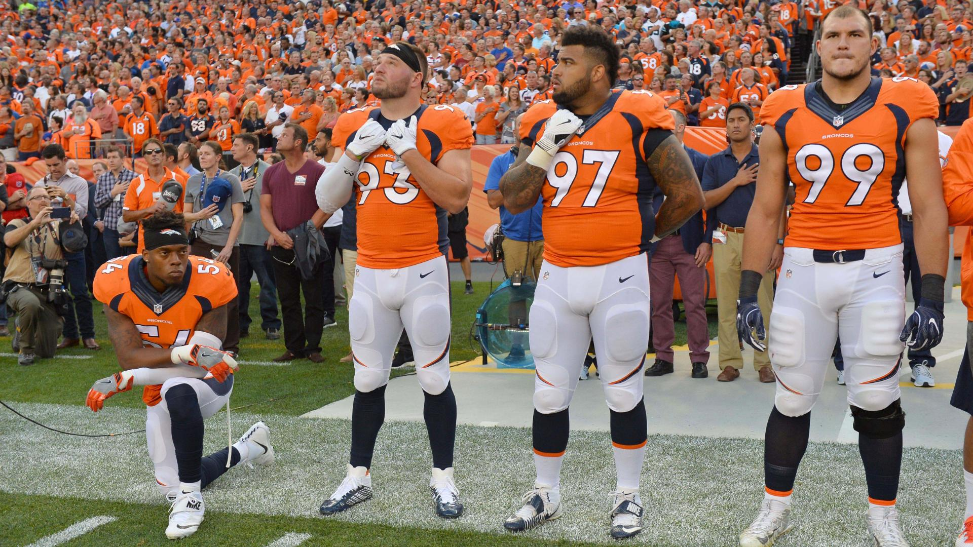 check out f2fd9 5b4e0 Brandon Marshall: Kneeling during anthem will 'create ...