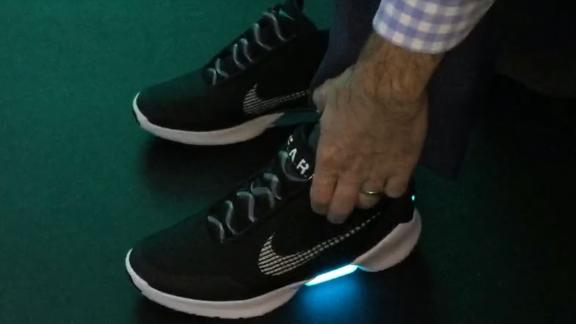 The story behind Nike's self-lacing, 'Back to the Future'-inspired shoes -  ABC News