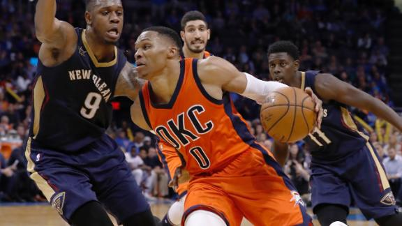 Jason Kidd Russell Westbrook Can Average Triple Double Abc News
