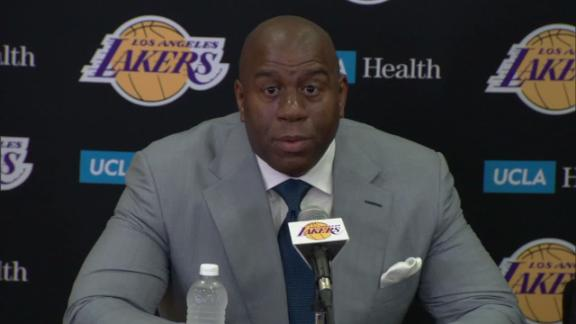Magic Johnson says Lonzo Ball  has greatness written all over him ... a4dc00cd5