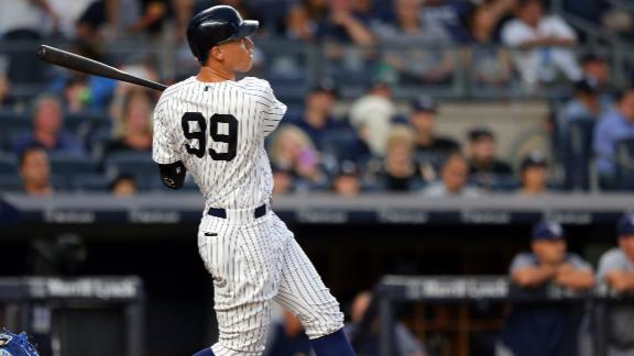 8b95effd Aaron Judge's debut jersey sells for $157K - ABC News