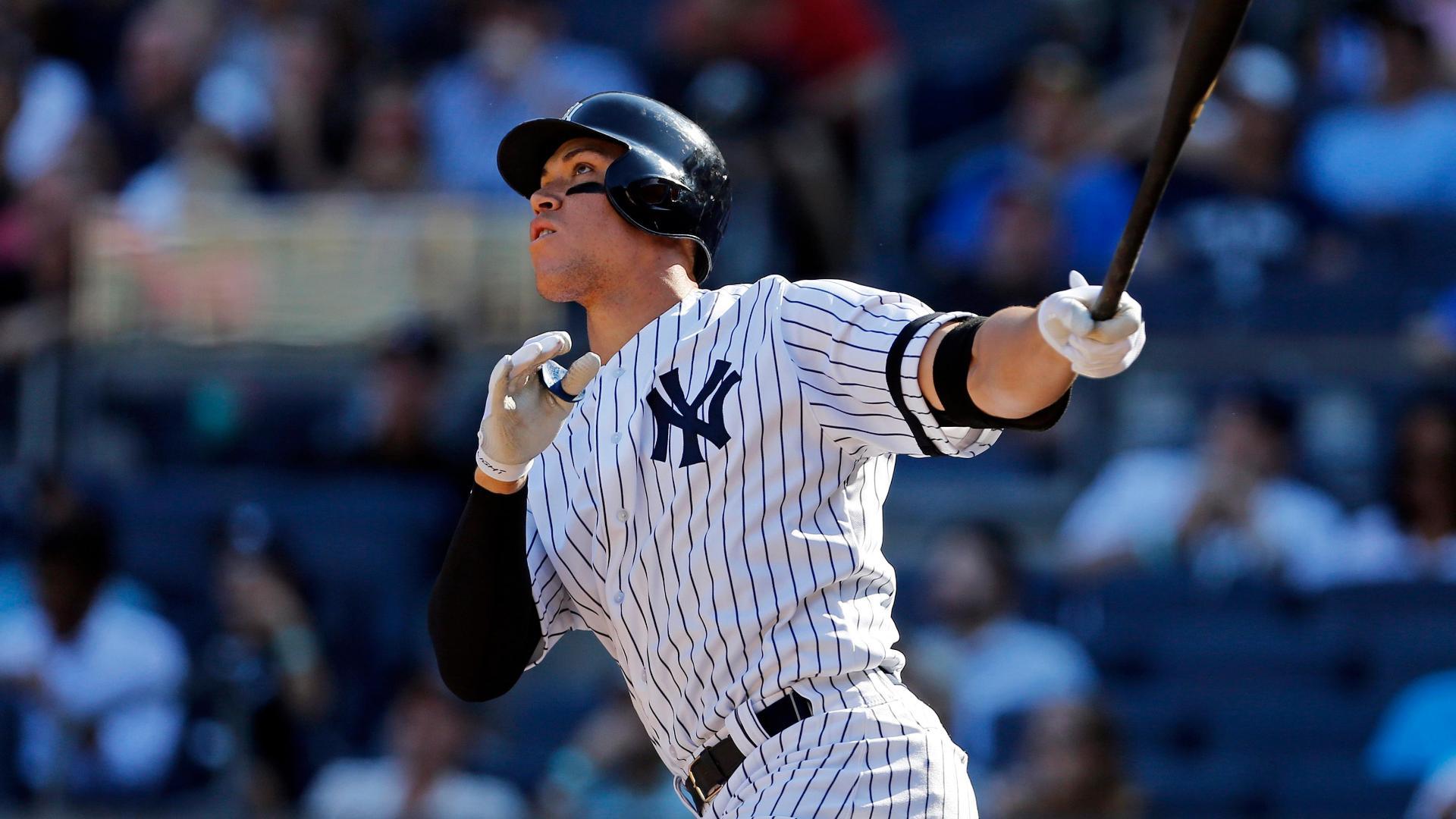 pretty nice c1691 90115 Yankees rookie Aaron Judge has best-selling rookie jersey ...