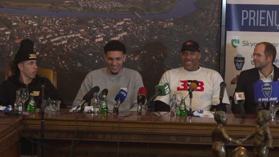 LaVar Ball: Plan is for LiAngelo, LaMelo to finish season ...