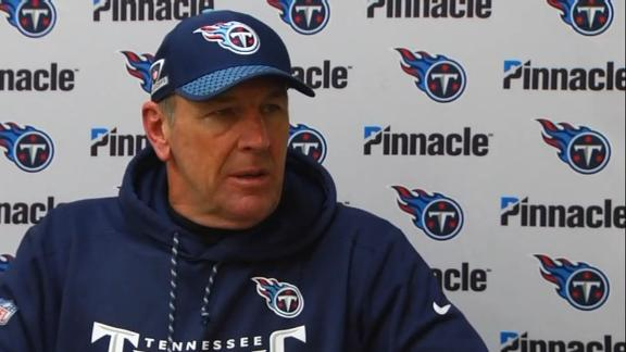 e75dcbdf0 Titans  Mike Mularkey  Having to listen to reports about job security   ridiculous