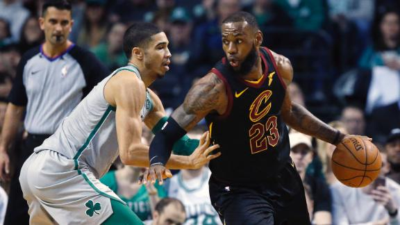 4d028137518d LeBron on new-look Cavs  big win over Celtics   It s almost like the new  guys have been here