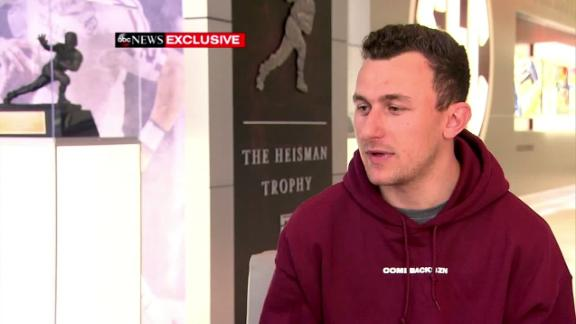 Johnny Manziel says he's bipolar, working on comeback