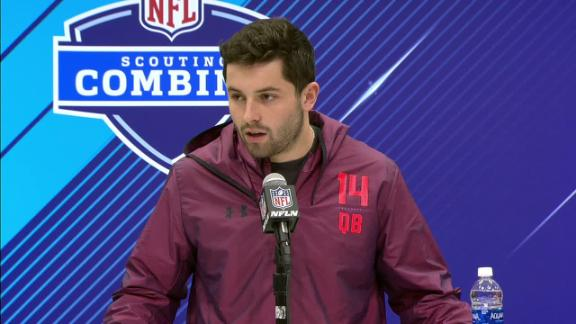 Baker Mayfield Just Ran The 40-Yard Dash At The NFL Combine