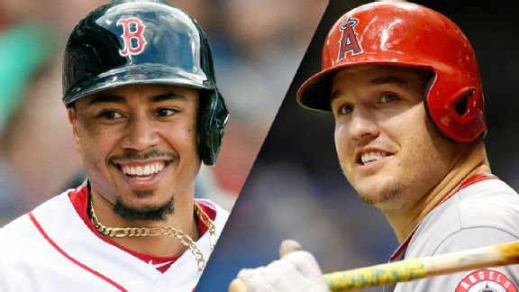 ¿Mike Trout con mejor campaña que Mookie Betts? ¿En serio? Espnapi_mlb_betts_trout_576x324_wmain