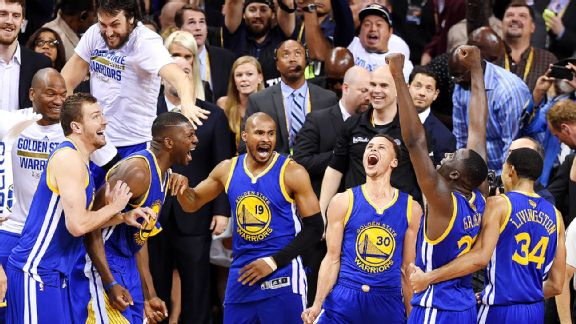 Were the Golden State Warriors 'lucky' to win the NBA ...
