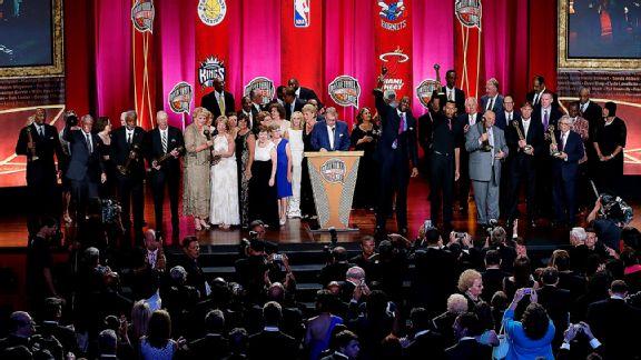 2014 Basketball Hall of Fame Enshrinement Ceremony