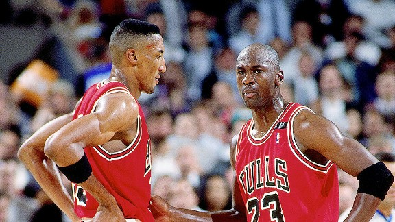 the best attitude b412b 82569 Would '95-96 Bulls sweep Warriors? Could Scottie Pippen stop ...