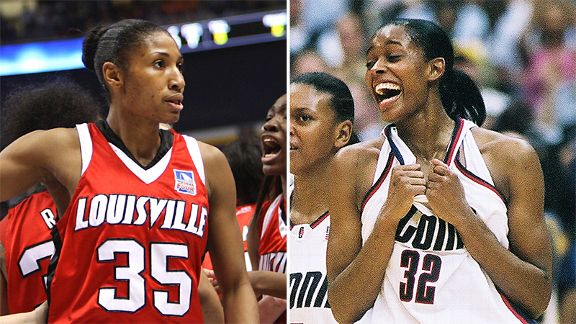 Angel McCoughtry and Swin Cash