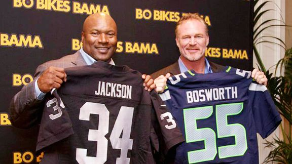 Bo Jackson, Brian Bosworth meet again — 27 years later ...