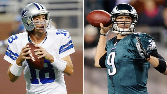 Kyle Orton and Nick Foles