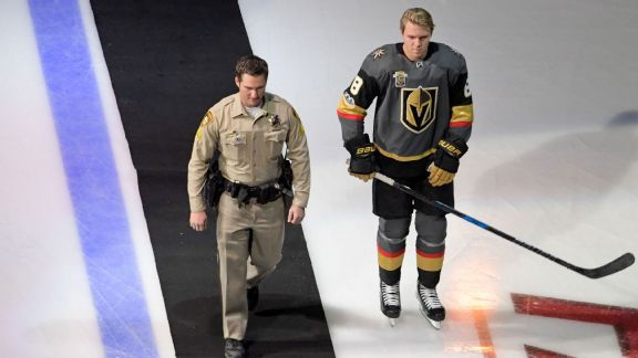 For a night, Golden Knights helped give the Vegas community