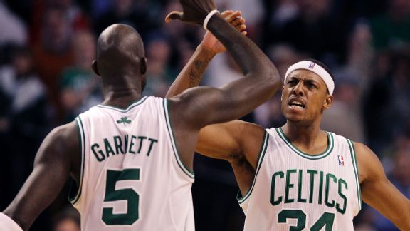354387212fb Paul Pierce: 'Kevin Garnett and I were meant to be together' - ABC News